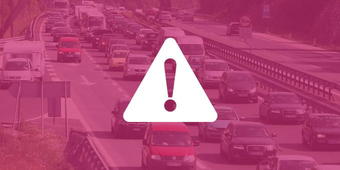 Heavy traffic delays are expected this weekend!