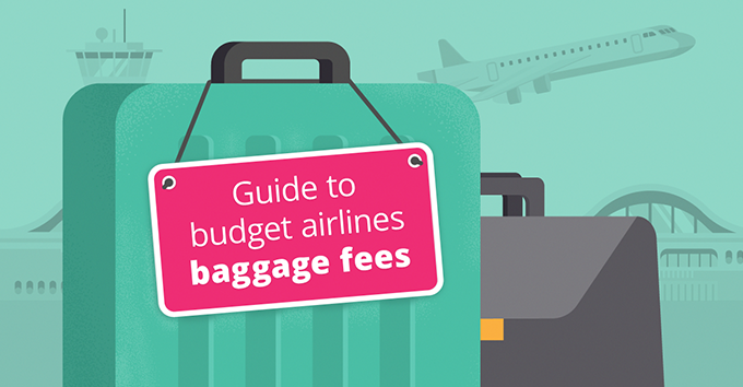 If you are traveling with budget  airlines, you usually need to pay extra for your luggage.