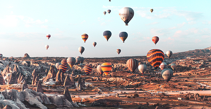 Cappadocia hot air balloons are becoming one of the most common travel bucket list items in the world.