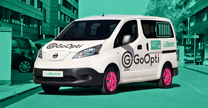 With the new electric vans, passenger will be able to travel from their home to the airport with far less environmental impact.