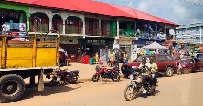 Ganta is Liberia's second most populated city