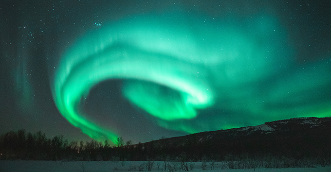 The Northern lights are listed as one of the seven natural wonders of the world.