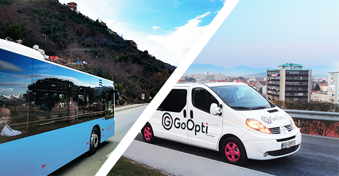 5 reasons why GoOpti is better than the bus